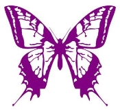 Butterfly 1 Decal Sticker
