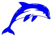 Dolphin 1 Decal Sticker