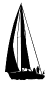 Sailboat 1 Decal Sticker