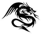 Dragon v5 Decal Sticker