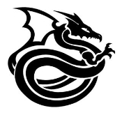 Dragon v3 Decal Sticker