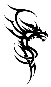 Dragon v17 Decal Sticker