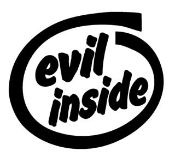 Evil Inside Decal Sticker