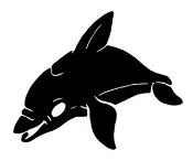 Dolphin 11 Decal Sticker