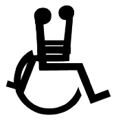 Wheelchair Sex  Decal Sticker