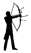 Archery 2 Decal Sticker
