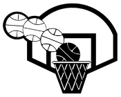 Basketball Hoop Decal Sticker