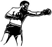 Boxing 2 Decal Sticker