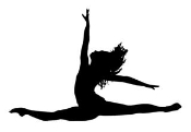Dancer Silhouette v3 Decal Sticker