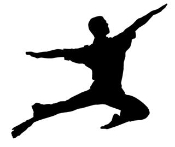 Dancer Silhouette v4 Decal Sticker