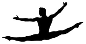 Dancer Silhouette v7 Decal Sticker