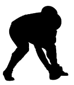 Lineman Silhouette Decal Sticker
