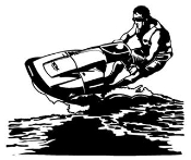 Jet Ski 3 Decal Sticker