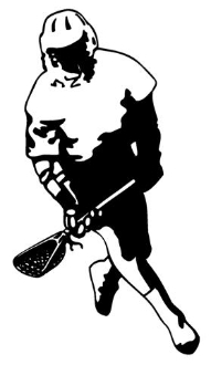 Lacrosse 3 Decal Sticker