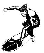 Surfer 3 Decal Sticker