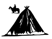 Teepee 2 Decal Sticker