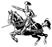 Jousting Knight v1 Decal Sticker