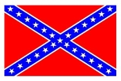Rebel Flag Decal Sticker