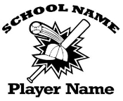 Personalized Baseball 2 Decal Sticker