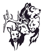 Animal Group Decal Sticker