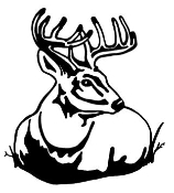 Deer 1 Decal Sticker