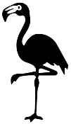 Flamingo Decal Sticker