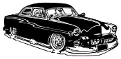 Classic Car v7 Decal Sticker