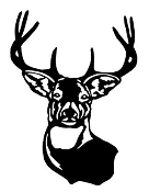 Deer Head 2 Decal Sticker