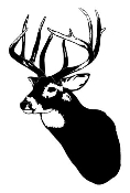 Deer Head 4 Decal Sticker