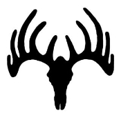 Deer Skull 2 Decal Sticker