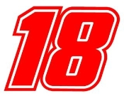 Busch 18 Decal Sticker