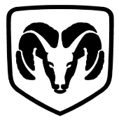 Ram Shield Decal Sticker