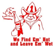 Find Em Hot 1 Decal Sticker