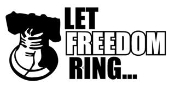 Let Freedom Ring Decal Sticker