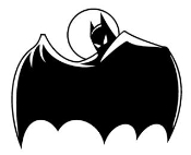 Batman v2 Decal Sticker