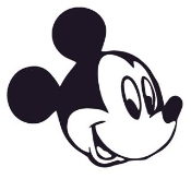 Mickey Mouse Head 1 Decal Sticker