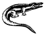 Alligator 2 Decal Sticker