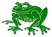 Frog 3 Decal Sticker