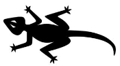 Lizard 1 Decal Sticker