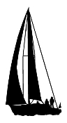 Sailboat 3 Decal Sticker
