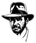 Indiana Jones Decal Sticker