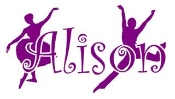 Personalized Name with Dancers Decal Sticker