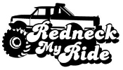 Redneck My Ride Decal Sticker
