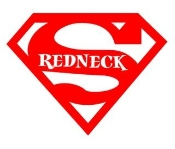 Super Redneck 2 Decal Sticker