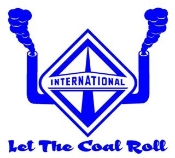 International Diesel Let The Coal Roll Decal Sticker