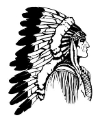 Indian Chief 5 Decal Sticker