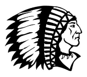 Indian Chief 6 Decal Sticker