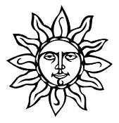 Sun 1 Decal Sticker