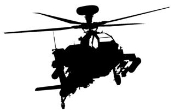 Helicopter 7 Decal Sticker