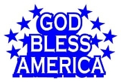 God Bless America 2 Decal Sticker